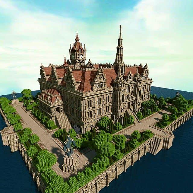 Renaissance Palace minecraft building ideas 2