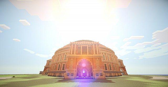 Ruined Colosseum Spleef Arena download minecraft 2