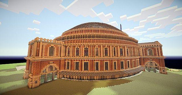 Ruined Colosseum Spleef Arena download minecraft