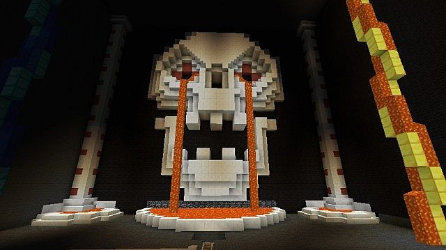 Ruins Of The Gods minecraft roller coaster 2
