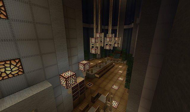 Spiral Tower minecraft skyscraper build 4