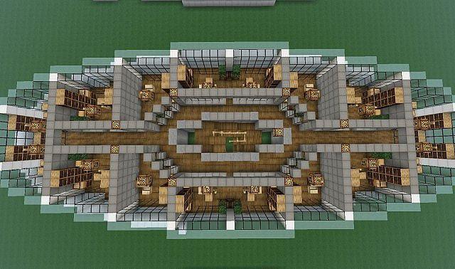 Spiral Tower minecraft skyscraper build 7