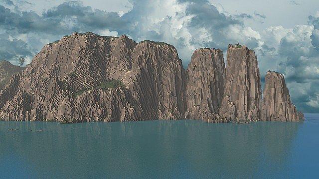 The Island of Pyke minecraft world 2