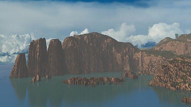 The Island of Pyke minecraft world 3