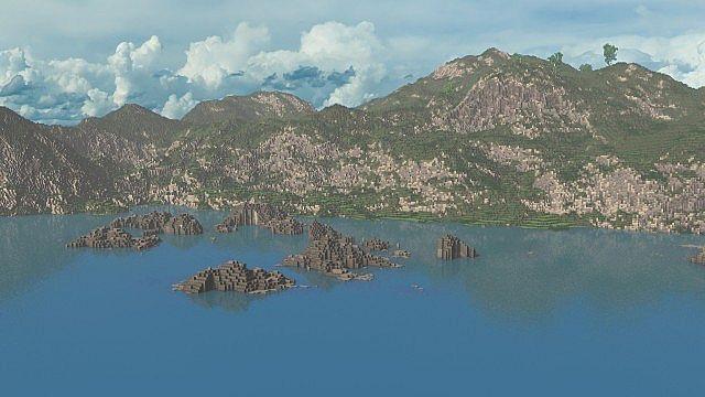 The Island of Pyke minecraft world 4