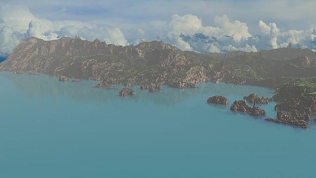 The Island of Pyke minecraft world 7