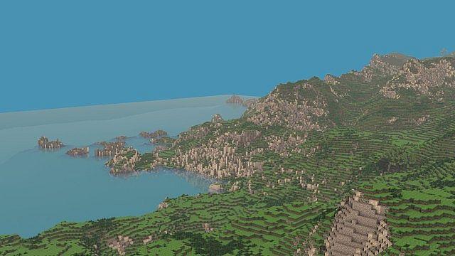 The Island of Pyke minecraft world 8