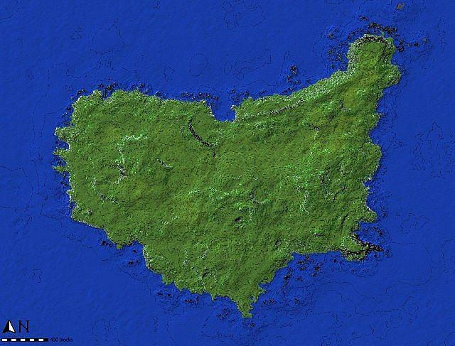 The Island of Pyke minecraft world 9