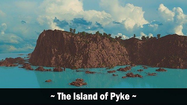 The Island of Pyke minecraft world