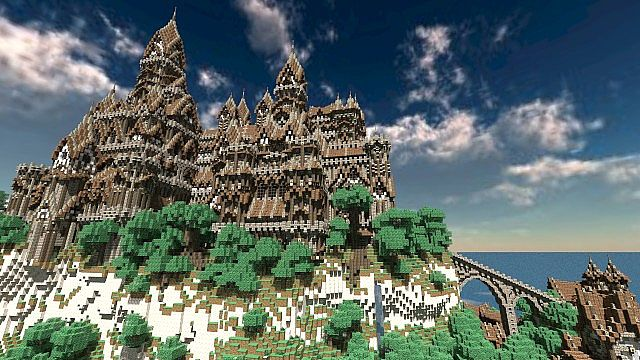 The Isles of Alteria minecraft town building 4