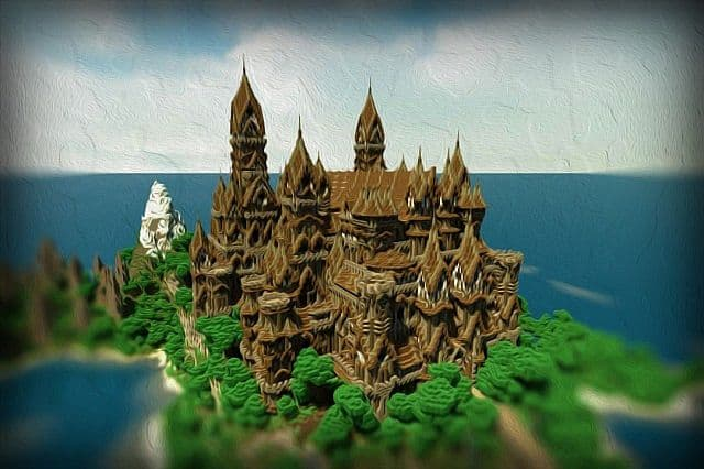The Isles of Alteria minecraft town building 5