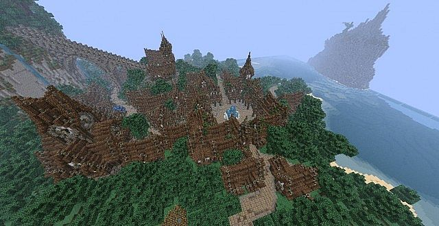 The Isles of Alteria minecraft town building 7