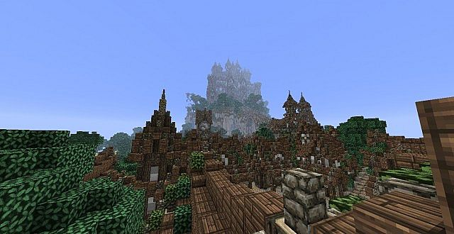 The Isles of Alteria minecraft town building 8