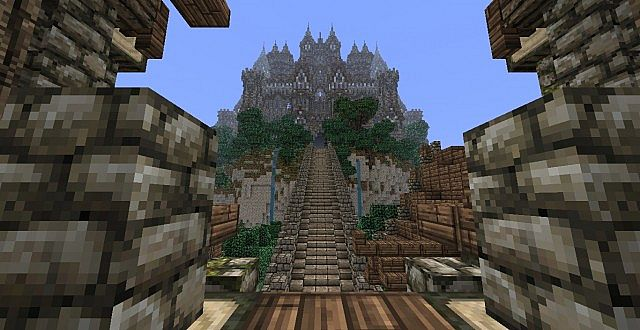 The Isles of Alteria minecraft town building 9