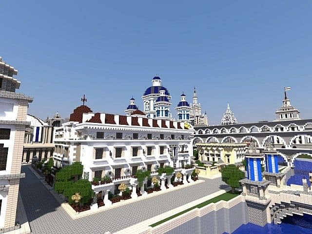 imperial city minecraft world build 3
