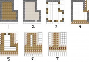 Villager House Blueprint