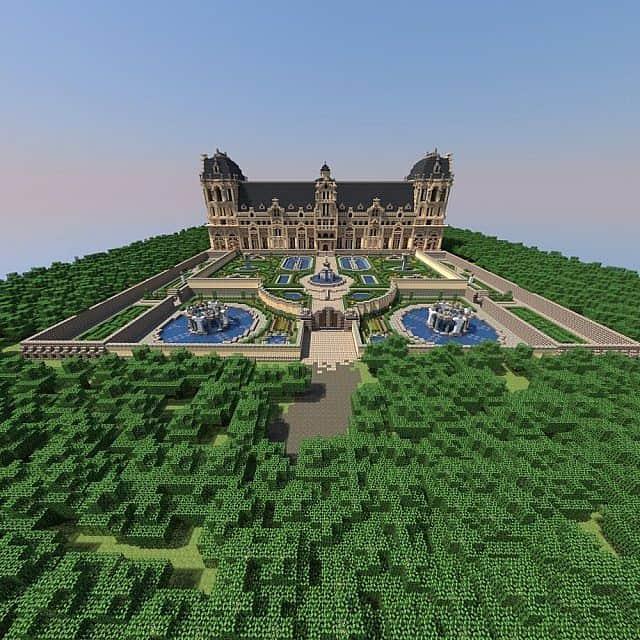 Hughoriev Palace Minecraft building ideas 2