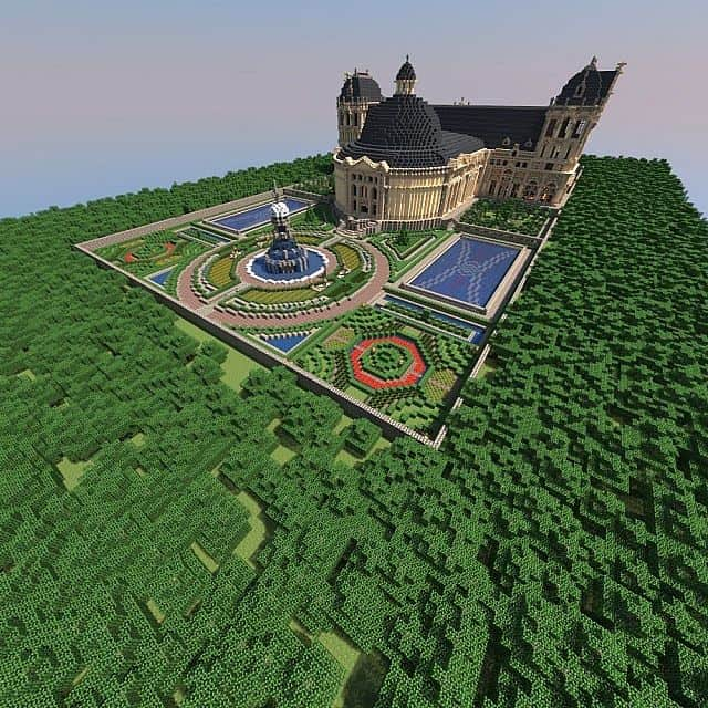 Hughoriev Palace Minecraft building ideas 3