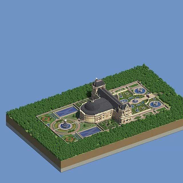 Hughoriev Palace Minecraft building ideas 4