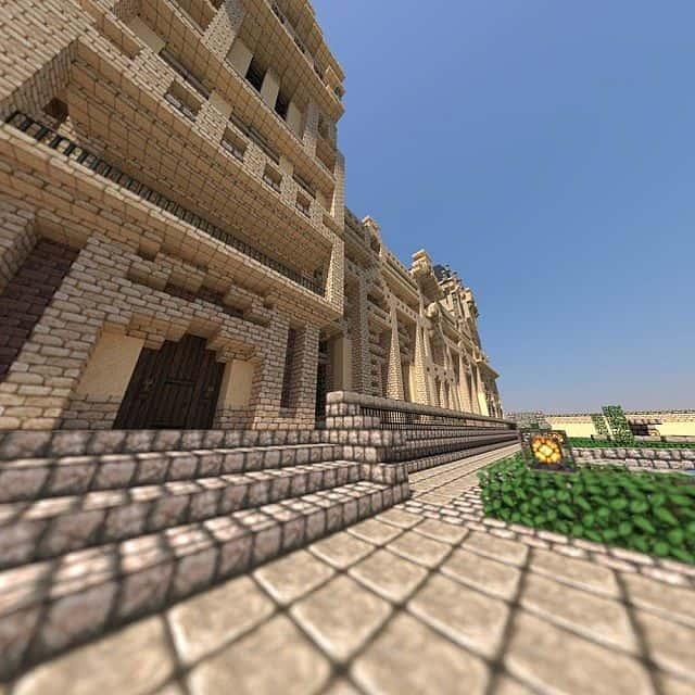 Hughoriev Palace Minecraft building ideas 5
