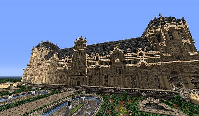 Hughoriev Palace Minecraft building ideas 6
