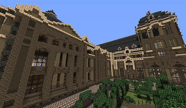 Hughoriev Palace Minecraft building ideas 7
