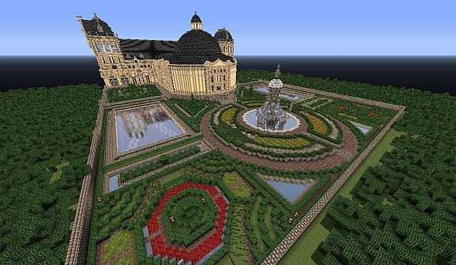 Hughoriev Palace Minecraft building ideas 8