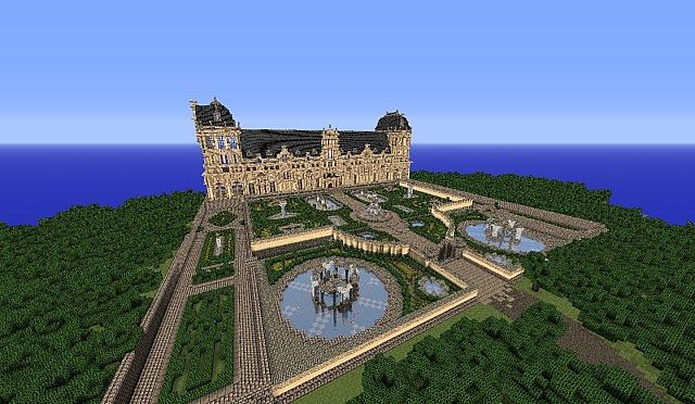 Hughoriev Palace Minecraft building ideas 9