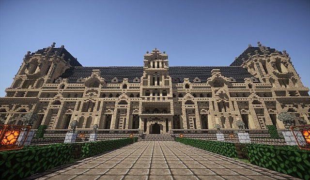 Hughoriev Palace Minecraft building ideas