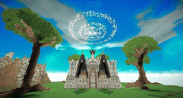Hymorin, The Elven Manor minecraft ideas 2