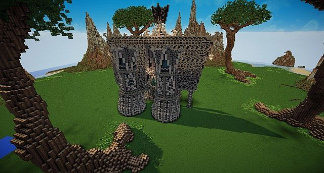 Hymorin, The Elven Manor minecraft ideas 4