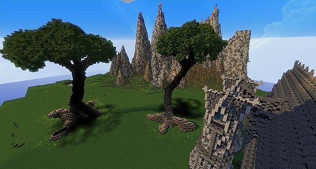 Hymorin, The Elven Manor minecraft ideas 7