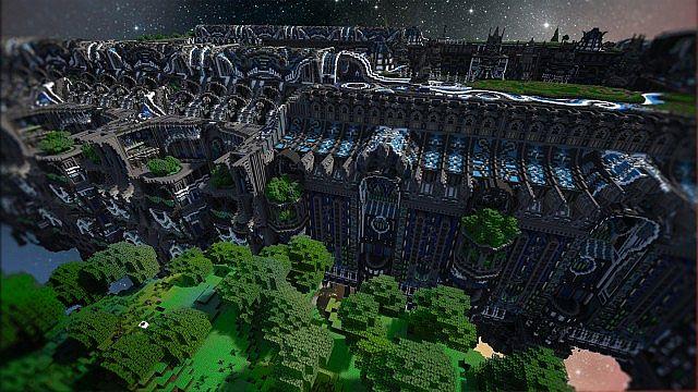 Minecraft building ideas Center Of Valhalla 12
