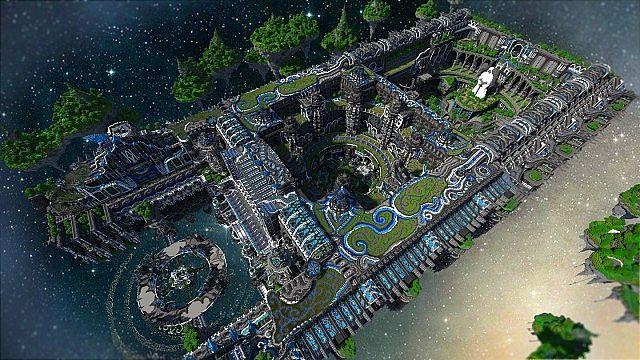 Minecraft building ideas Center Of Valhalla 2