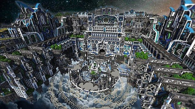 Minecraft building ideas Center Of Valhalla 3