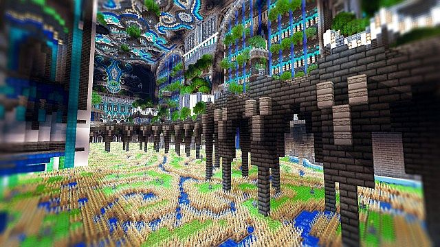Minecraft building ideas Center Of Valhalla 9
