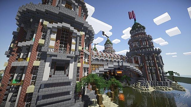 Pigron Castle minecraft building 11
