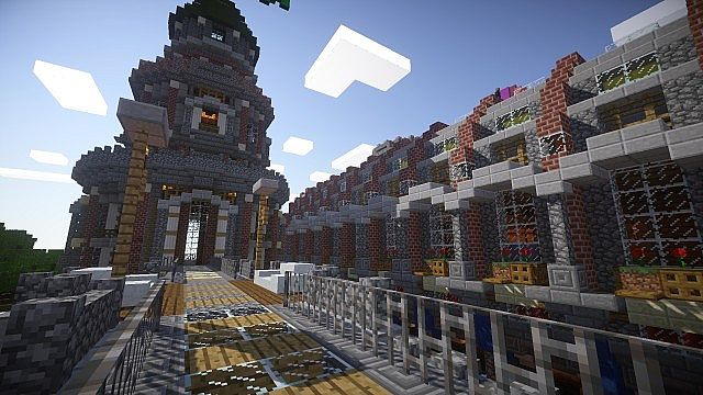 Pigron Castle minecraft building 3