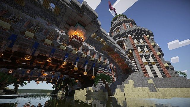 Pigron Castle minecraft building 5