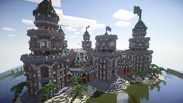 Pigron Castle Faction Base Minecraft Building Inc