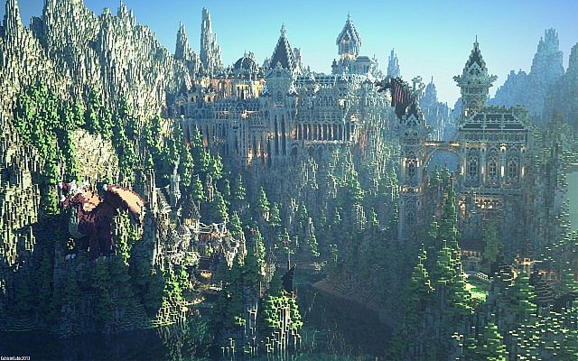 Thalvon - Land of Kings minecraft ideas