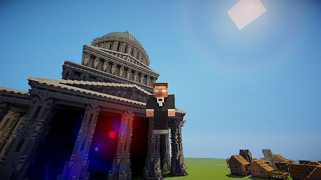 The Grey Palace minecraft building 10