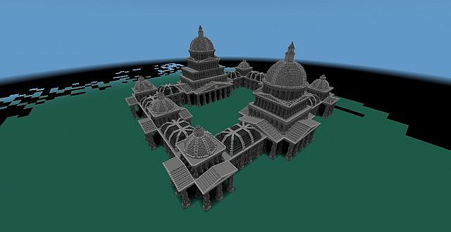 The Grey Palace minecraft building 4