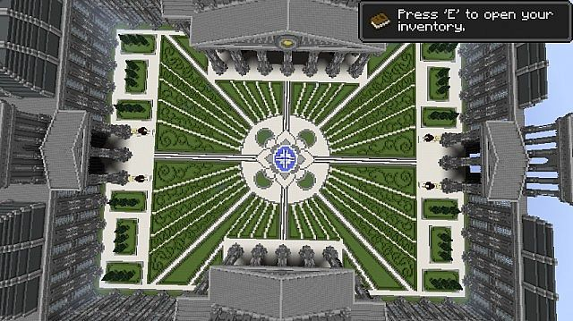 The Grey Palace minecraft building 5