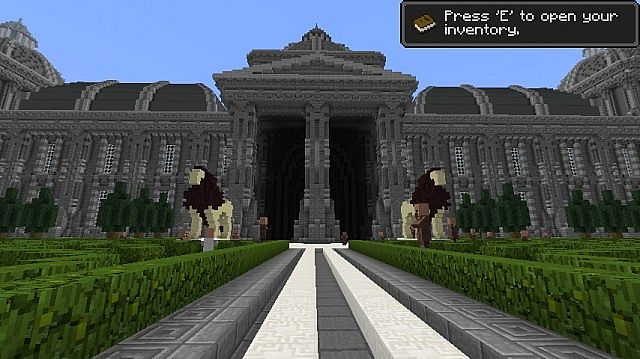 The Grey Palace minecraft building 6