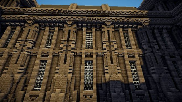 The Grey Palace minecraft building 9