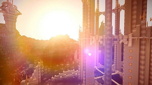 Timelapse Hydros the Evolving City of Tomorrow minecraft building