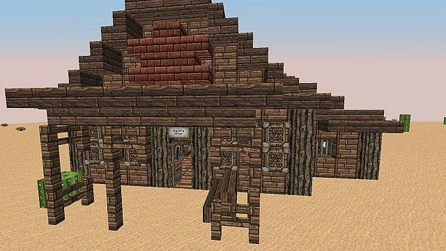 Wild West Building Bundle minecraft building 10