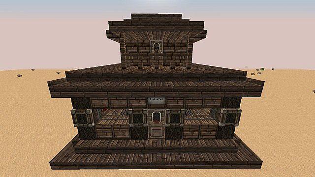 Wild West Building Bundle minecraft building 12
