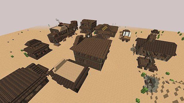 Wild West Building Bundle minecraft building 14